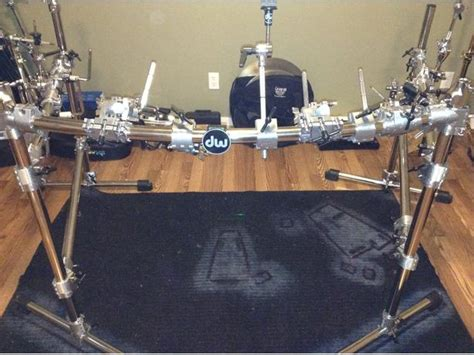Dw Rack by Dw 9000 Series Complete Drum Rack System Lots Of Extras