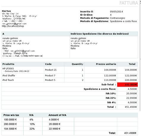 Opencart Invoice Template Invoice Sle Template Opencart Invoice Template