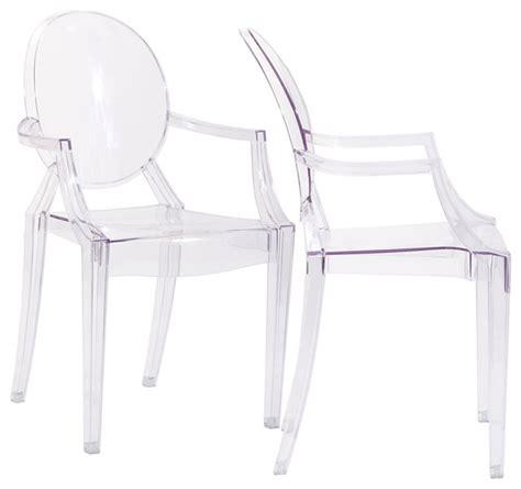 acrylic arm chair clear acrylic ghost arm chair new set of 2 modern