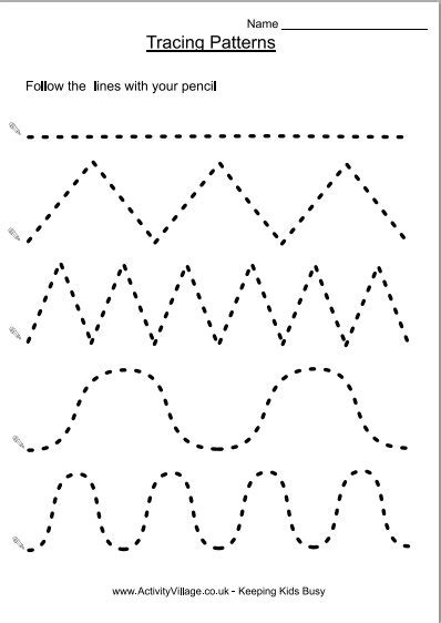 printable tracing vertical lines 7 best images of line tracing worksheets free printable