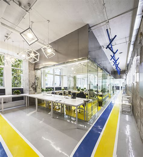 Blue Mood Paint Color stories on design coworking spaces yellowtrace