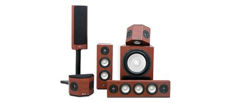 klipsch gallery g 28 home theater speaker system