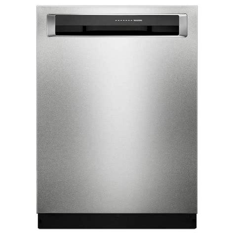 kitchen aid appliance reviews shop kitchenaid 39 decibel built in dishwasher with bottle