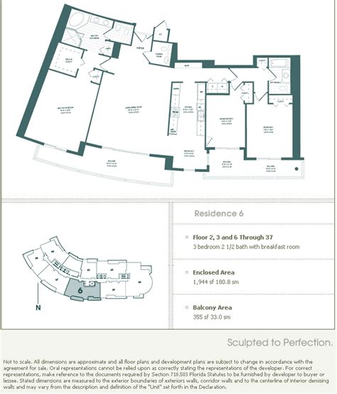 Carbonell Brickell Key Floor Plans | carbonell brickell key condo floor plans