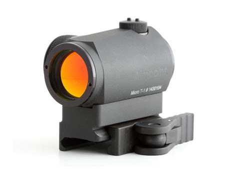 Micro Aimpoint T1 Low Black american defense mfg llc aimpoint t1 micro mount cas v