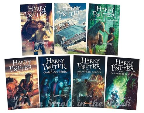 harry potter spanish 8498383641 harry potter complete collection spanish edition books 1 2 3 4 5 6 7 nuevos ebay