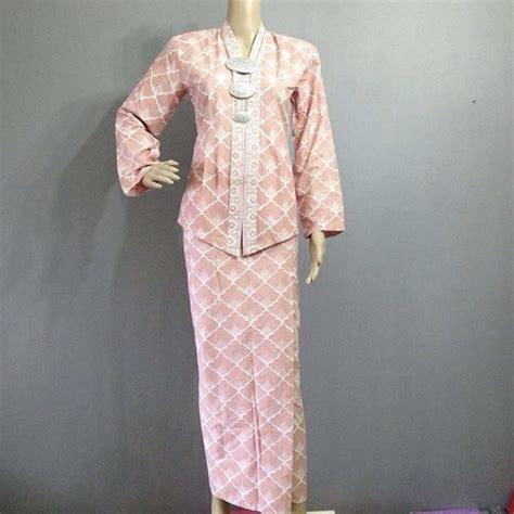 Set Vania 3in1 baju kurung kebaya fesyen muslimah di carousell