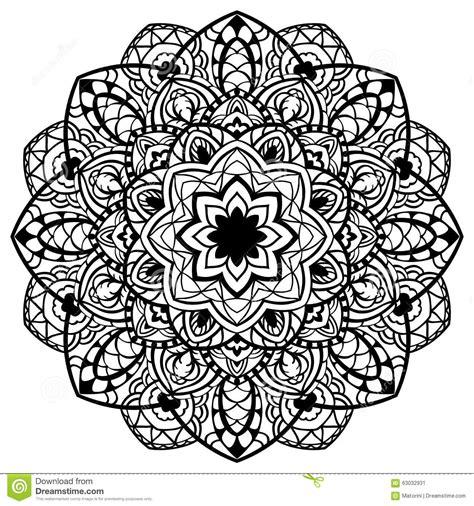 Vector, Abstract, Detailed Mandala. Stock Vector   Image