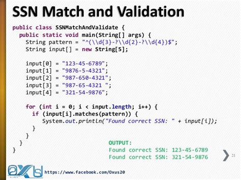 java validation pattern regex java regular expression part i