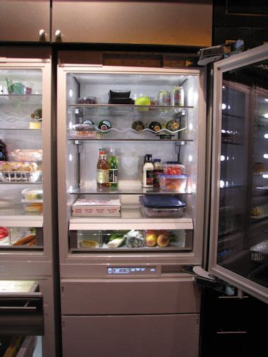 Clear Glass Door Refrigerator Refrigerator With Clear Front Door Vignette Design Tuesday Inspiration Glass Front