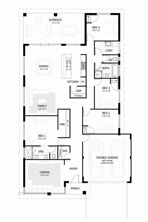 four bedroom house plans in south africa 4 bedroom house plans south africa pdf savae org