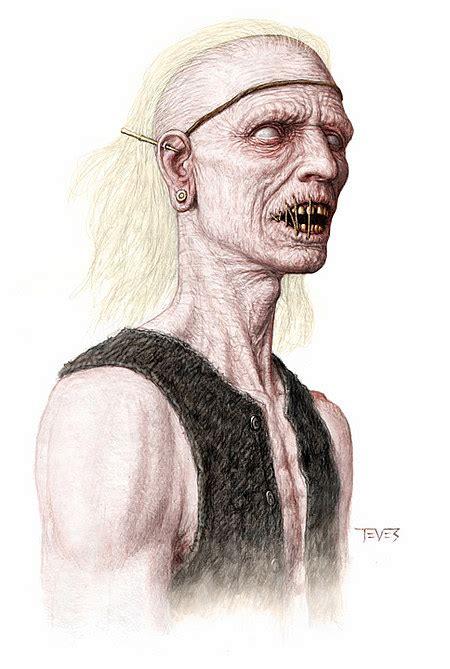 film d action zombie pirates des caraibes 4 concept art des zombies pirates