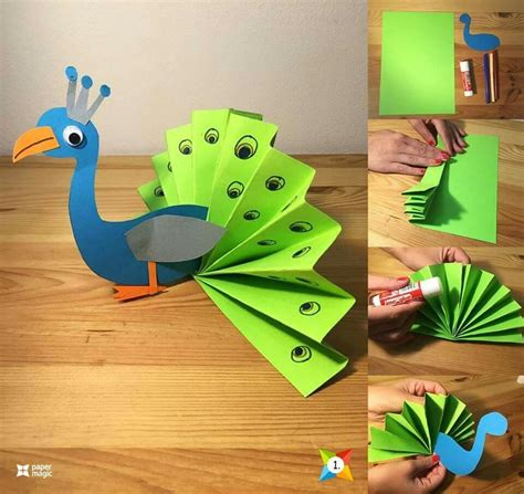 Construction Paper Craft Ideas - great and craft kits for children http