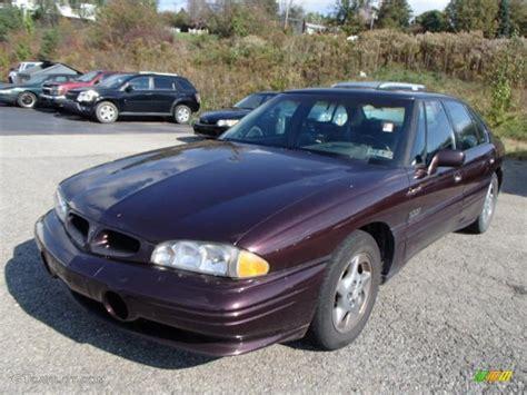 Pontiac Bonneville 1997 by 1997 Cherry Metallic Pontiac Bonneville Ssei