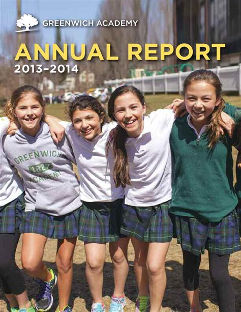 clark gregg brother andrew greenwich academy 2013 2014 annual report by peapod design