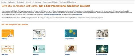 Easy Way To Get Amazon Gift Cards - see if you re targeted for free 10 gift card when you buy 50 amazon gift card