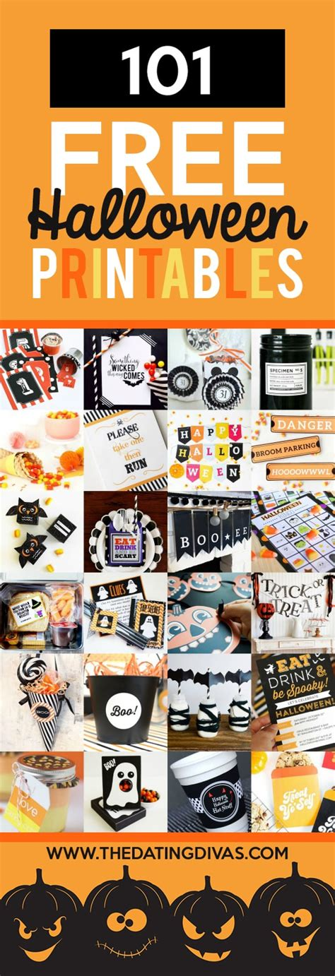 printable halloween decorations office 101 free halloween printables the dating divas