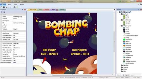 construct 2 multiplayer tutorial create a bomberman inspired game in construct 2