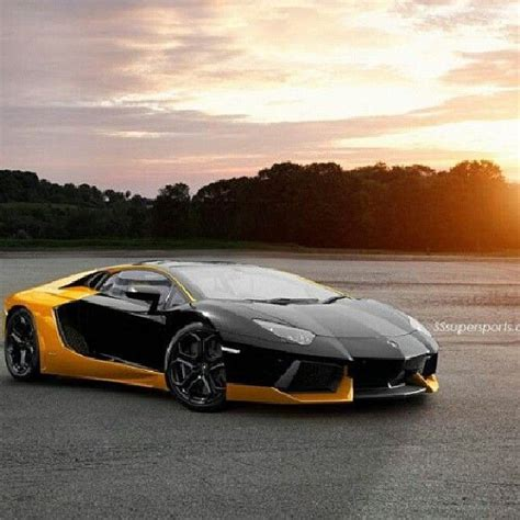 Lamborghini Aventador Black And Yellow 1000 Images About Fast Cars On