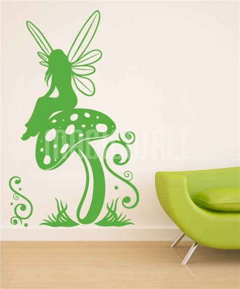 Removable Nursery Wall Stickers fairy decals for walls fairy dandelion wand wall decal