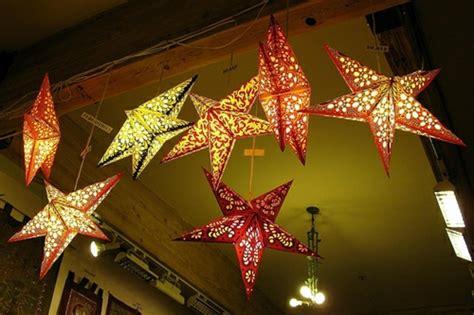 weihnachtsstern mit beleuchtung 123 ideen weihnachtssterne basteln archzine net