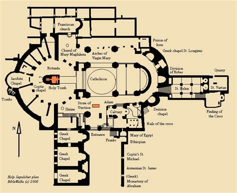 Catholic Church Floor Plan church of holy sepulchre