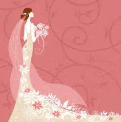 フリーイラスト素材 イラスト 人物 女性 女の人 結婚式 ウェディング ブライダル ウェディングドレス id 201312010000 gatag フリーイラスト素材集