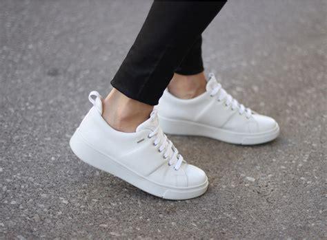 Sneaker White waterproof white sneakers geox hibiox