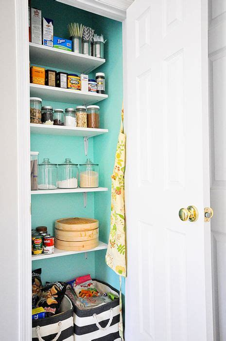 Small Pantry Makeover by 15 Organization Ideas For Small Pantries