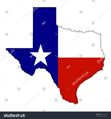 texas map flag texas flag map icon stock illustration 196756022