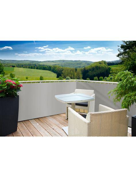 terrasse grau balkon sichtschutz grau