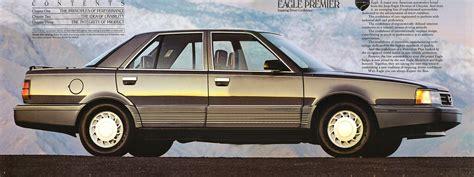 jeep eagle premier 1989 eagle premier brochure