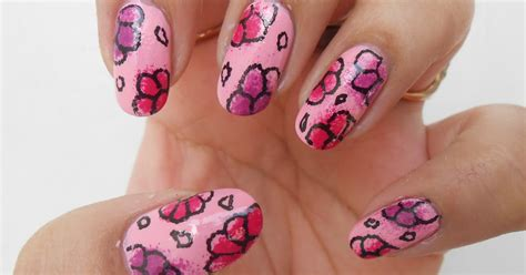 cutepolish doodle flowers nails my birthday nails simple flower doodles