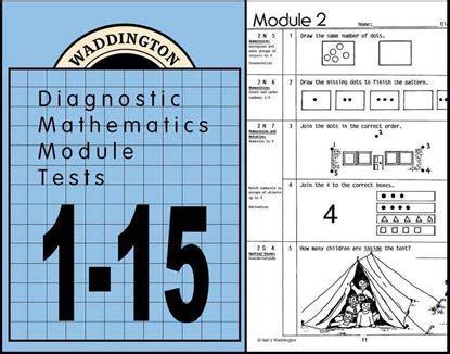 Maths Module Tests 31 48 Ebook Waddington Educational