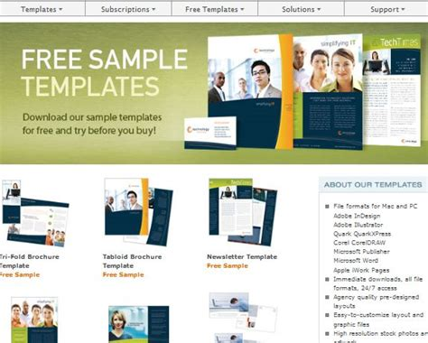 free downloadable brochure templates for microsoft word free microsoft word templates