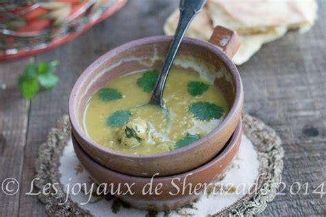 recette cuisine m馘iterran馥nne chorba de boulgour 224 l alg 233 rienne