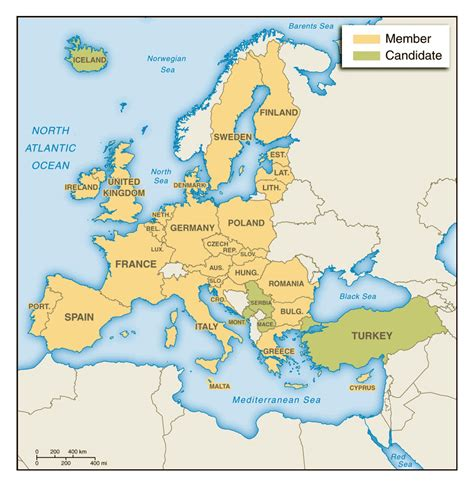 map of eurpore maps of europe and european countries political maps