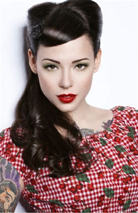 rockabilly bang curl 1001 ideas for rockabilly hair inspired from the 50 s