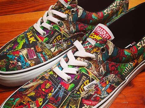 Vans Marvels Comic marvel comics sneakernews