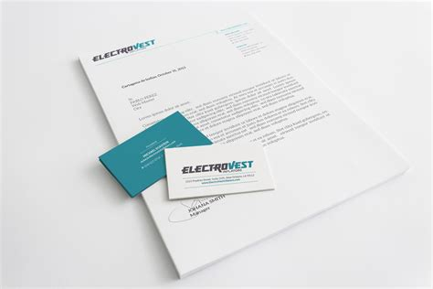 Business Card Letterhead Design Printed Marketing Collateral Design Letterhead
