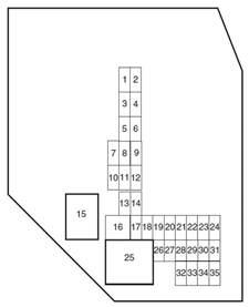 ford ranger 2010 2011 fuse box diagram auto genius