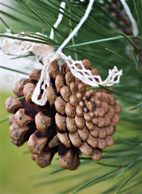 cone ornaments pine cone diy tree ornament