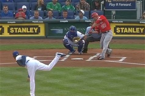 mike trout home run swing