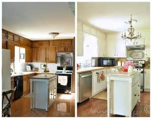Update Kitchen Cabinets With Paint 1000 Ideas About Updating Oak Cabinets On Painting Oak Cabinets Painted Oak