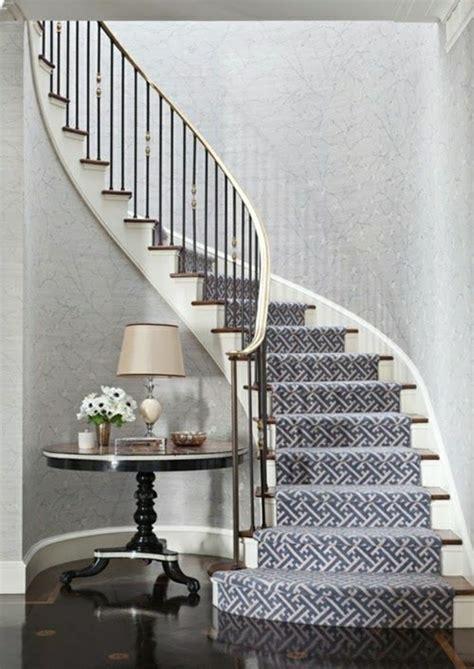 flur gestalten mit tapeten tapete in grau stilvolle vorschl 228 ge f 252 r wandgestaltung