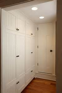 Hallway Cabinets Built In Cabinets The Look May Add Floor To
