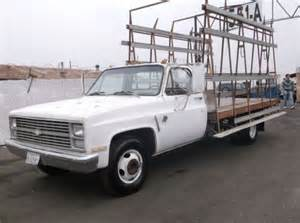 purchase used 1983 chevrolet 1 ton truck flat bed work
