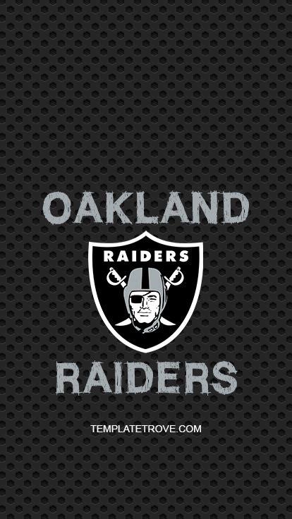 2018 2019 oakland raiders lock screen schedule for iphone 6 7 8 plus