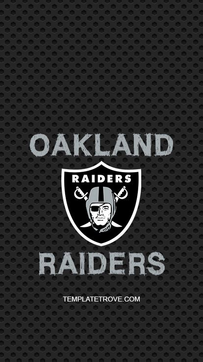 oakland raiders lock screen schedule  iphone