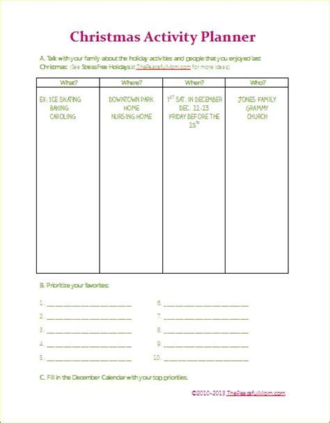 printable christmas planner a purposeful peaceful free printable christmas activity planner calendar the